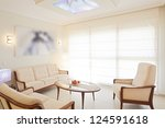 modern living and dining room | Shutterstock . vector #124591618