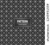 minimal geometric pattern... | Shutterstock .eps vector #1245951559