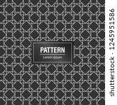 minimal geometric pattern... | Shutterstock .eps vector #1245951586