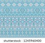 peruvian american indian... | Shutterstock .eps vector #1245960400