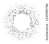 halftone dotted background... | Shutterstock . vector #1245985786