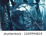 disco ball abstrack background. | Shutterstock . vector #1245994819