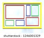 3d illustration series view of...   Shutterstock . vector #1246001329