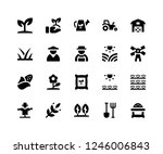 simple set of agriculture... | Shutterstock .eps vector #1246006843
