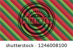 publicity christmas style badge.... | Shutterstock .eps vector #1246008100