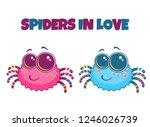 kawaii vector cartoon...   Shutterstock .eps vector #1246026739