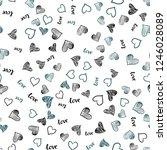 light blue vector seamless... | Shutterstock .eps vector #1246028089
