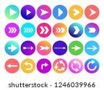 arrows in circle icon. website...
