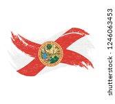 national flag of florida ...   Shutterstock .eps vector #1246063453