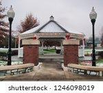 pretty gazebo in the johnson... | Shutterstock . vector #1246098019