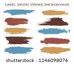 vintage label brush stroke... | Shutterstock .eps vector #1246098076