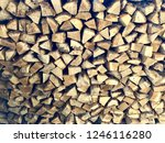 background from the firewood | Shutterstock . vector #1246116280