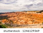 sunset point bryce canyon... | Shutterstock . vector #1246129369