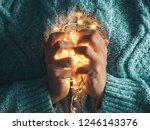 warm heart  love concept. women'... | Shutterstock . vector #1246143376
