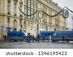 paris  france  december 1  2018.... | Shutterstock . vector #1246195423