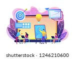 company providing management... | Shutterstock .eps vector #1246210600