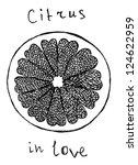 Citrus Slice In Heart Form ...