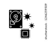 hardware solutions black icon ... | Shutterstock .eps vector #1246259509