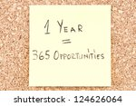 1 Year 365 Opportunities ...