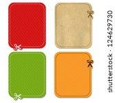 4 color announcement        ... | Shutterstock .eps vector #124629730