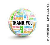 3d volumetric ball with words...   Shutterstock .eps vector #1246332766