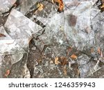 a lot of sharp fragments of... | Shutterstock . vector #1246359943
