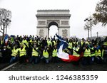 paris  france.  1st december... | Shutterstock . vector #1246385359