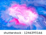 liquid colorful paint... | Shutterstock . vector #1246395166