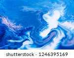 blue and white color paint... | Shutterstock . vector #1246395169