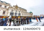 vienna  austria   december 1 ...   Shutterstock . vector #1246400473