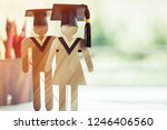 back to school concept  two...   Shutterstock . vector #1246406560