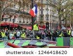paris  france  12.01.2018 rally ... | Shutterstock . vector #1246418620