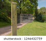 public footpath to the church...   Shutterstock . vector #1246432759