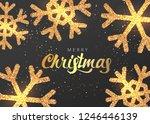 merry christmas premium luxury  ... | Shutterstock .eps vector #1246446139