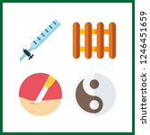 4 therapy icon. vector...   Shutterstock .eps vector #1246451659