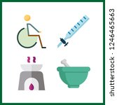 4 therapy icon. vector...   Shutterstock .eps vector #1246465663