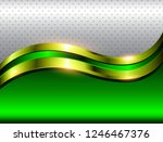 abstract background green with... | Shutterstock .eps vector #1246467376