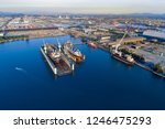 shipyard continuously aims to...   Shutterstock . vector #1246475293