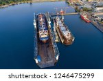 shipyard continuously aims to...   Shutterstock . vector #1246475299