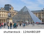 05.05.2008  paris  france. the... | Shutterstock . vector #1246480189