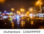 colorful night traffic in the...   Shutterstock . vector #1246499959