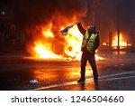 paris  france.  1st december... | Shutterstock . vector #1246504660