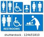 Vector Illustration Toilette...