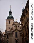 old historical church in prague ... | Shutterstock . vector #1246522693