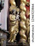 bronnbach  germany   july 07 ... | Shutterstock . vector #1246523866