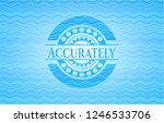 accurately water wavec oncept... | Shutterstock .eps vector #1246533706