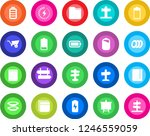 round color solid flat icon set ... | Shutterstock .eps vector #1246559059