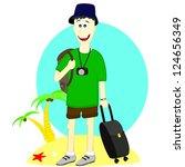 tourist | Shutterstock . vector #124656349