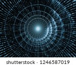 lines and digits series. light... | Shutterstock . vector #1246587019