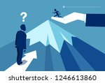 vector design of businessman... | Shutterstock .eps vector #1246613860